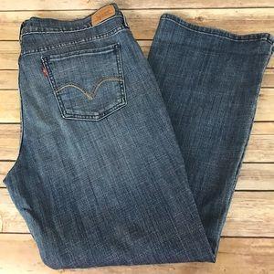 Levi's 515 Boot Cut Stretch Denim Jeans 16S